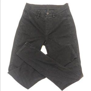 Small Uniqlo Black Skinny Jeans Legging 26